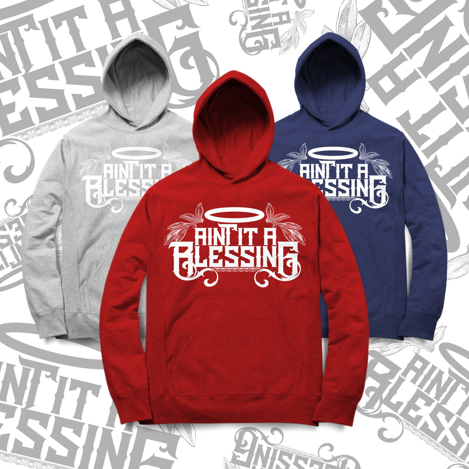 AINT IT A BLESSING- HOODIE (UNISEX)