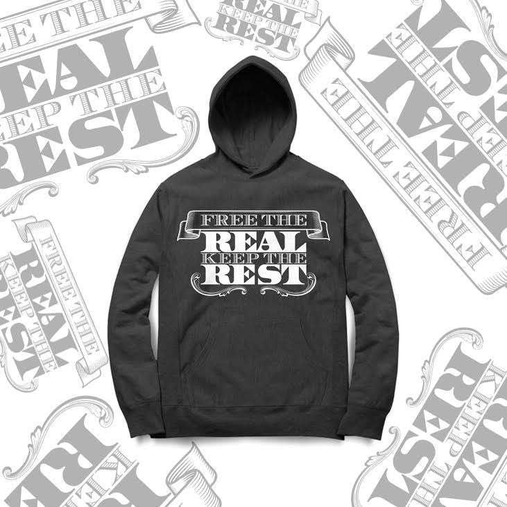 FREE THE REAL HOODIE- (UNISEX)