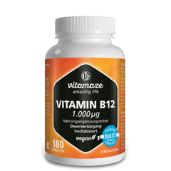 Complément alimentaire vitamine B Vitamaze fort - carence vitamine B12