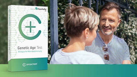 Weltneuheit! cerascreen® Genetic Age Test