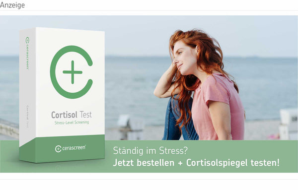 cerascreen Cortisol Test - Stresslevel messen