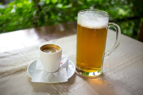 what helps a hangover: more alcohol or coffee