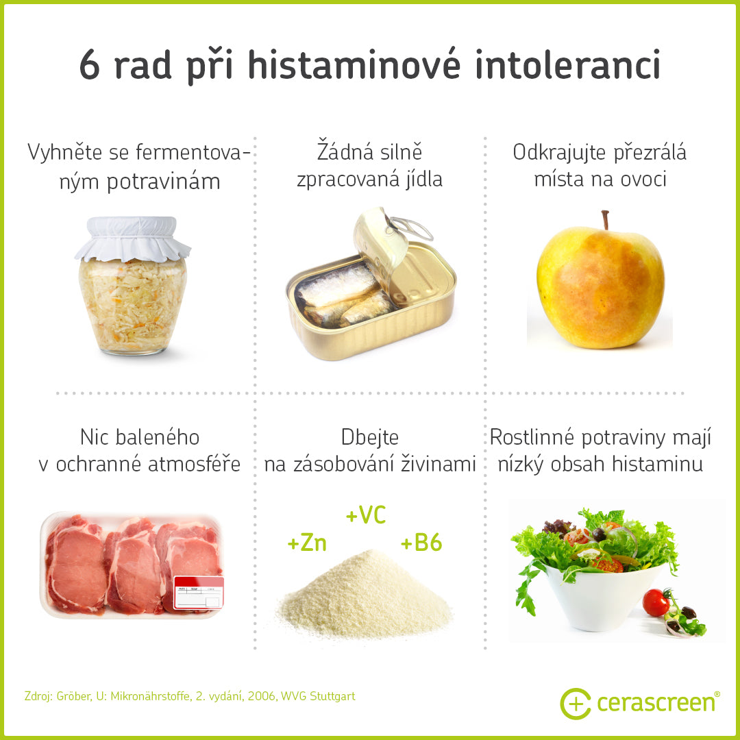 6 Tips for Histamine Intolerance