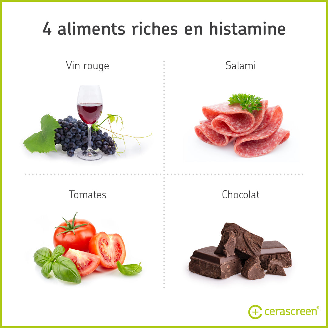 4 aliments riches en histamine