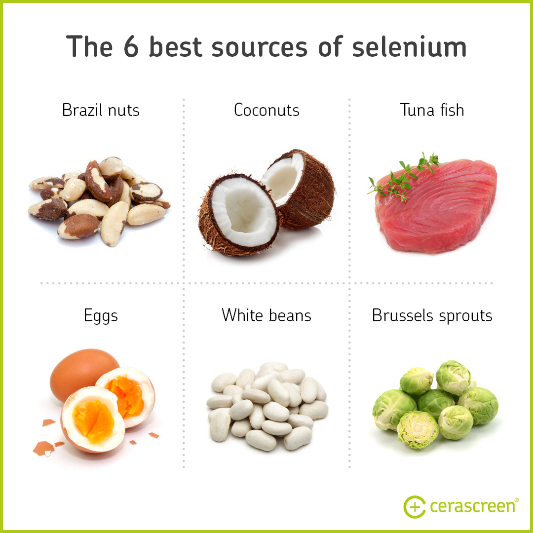 The 6 best sources for selenium