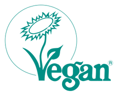 """Veganblume""-Label der Vegan Society"