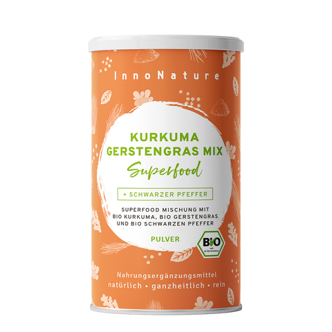 Bio Kurkuma Gerstengras Mix Superfood - 450g