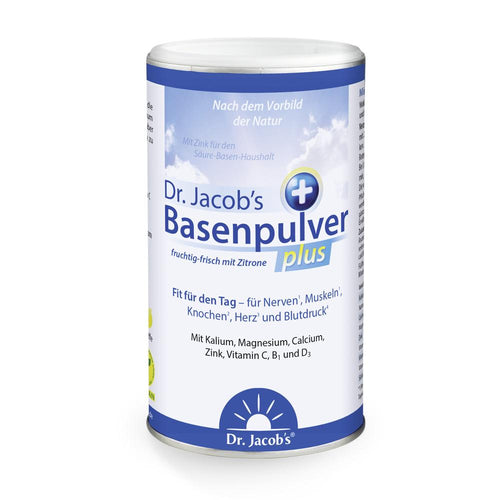 Dr. Jacob's Basenpulver Plus - 300g