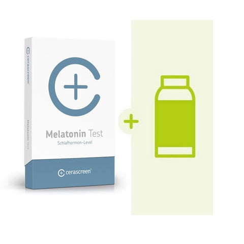 Melatonin Vorsorgeset - Melatonin Test + Melatonin Präparat