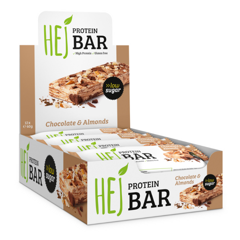 Hejbar Chocolate & Almonds - 12x60g