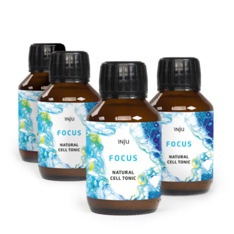 INJU Focus - 4 x 100ml