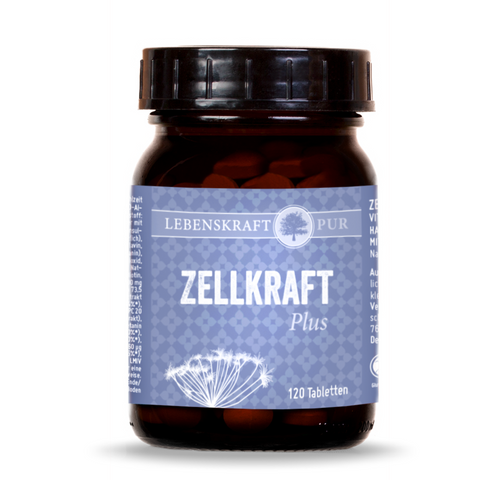 LebenskraftPur Zellkraft Plus - 120 Tabletten