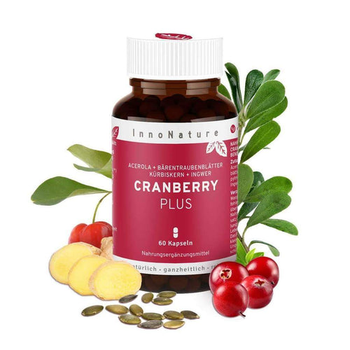 Innonature Cranberry Plus - 60 Kapseln