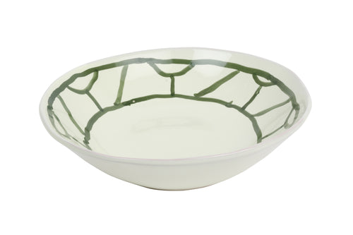 Apulian Bowl, Olive Green