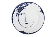 Apulian Large Face Plate, Navy 31.5cm