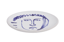 Load image into Gallery viewer, Apulian Face Plate, Blue 20.5cm