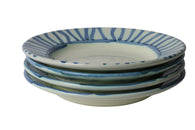 Apulian Risotto Bowl, Blue set of 4