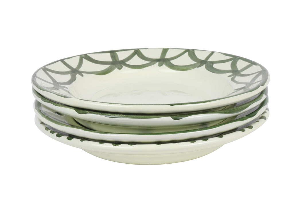 Apulian Risotto Bowl, Green set of 4