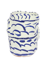 Load image into Gallery viewer, Apulian Basket Vase, Blue