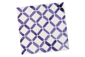 Apulian Blue coaster tile