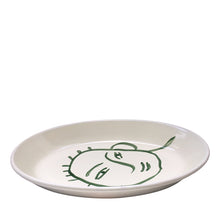 Load image into Gallery viewer, Apulian Large Oval Serving Plate, Green