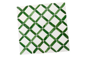 Apulian Green hot dish tile