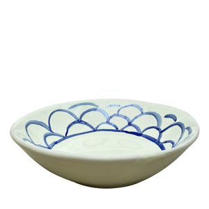 Ceramic Apulian Bowl, royal blue