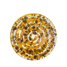 Load image into Gallery viewer, Ceramic dessert plate - yellow, Puglia, Italy: BACK IN STOCK LATE APRIL