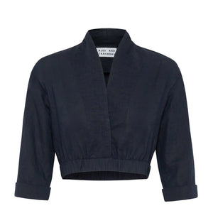 Joanne Positano Top - Navy