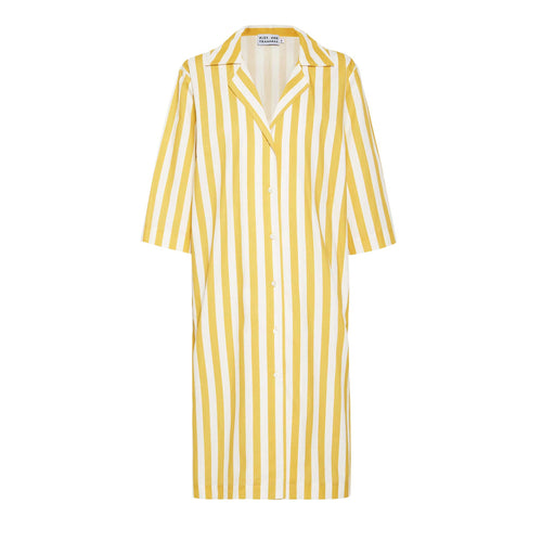 Ischia shirt dress, fruttivendelo stripe