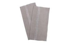Load image into Gallery viewer, Apulian linen napkins QTY 2 grey