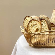 Load image into Gallery viewer, Raffia Bread Basket, Ischia