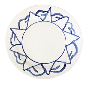 Apulian Large Plate, Blue 32cm - various patterns