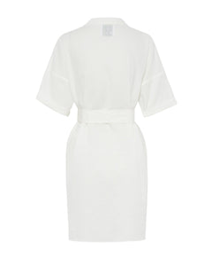 ALEX AND TRAHANAS X MASSERIA MOROSETA, Giorgia Dress - white