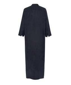 ALEX AND TRAHANAS X MASSERIA MOROSETA, La Piscina Dress - navy