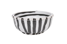 Load image into Gallery viewer, Apulian Small dipping bowl, white, black