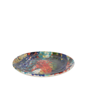 Apulian Side Plate, multicoloured splatter 18cm