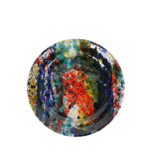 Load image into Gallery viewer, Apulian Side Plate, multicoloured splatter 18cm