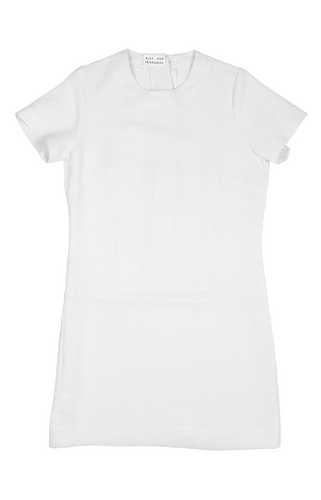 Alexandra Short Sleeve Dress - White