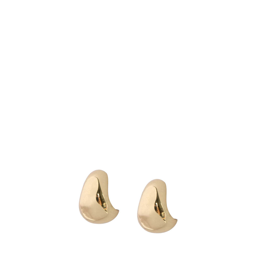 LOUISE OLSEN X ALEX AND TRAHANAS Chifferi hoop earrings, gold tone - piccolo (extra small)
