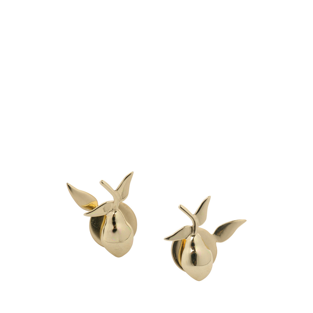 LOUISE OLSEN X ALEX AND TRAHANAS Gold-Tone Limone stud earrings