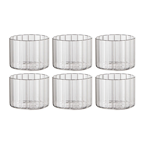 Italian short wine tumblers - set of 6 by Bitossi: BACK IN STOCK LATE APRIL
