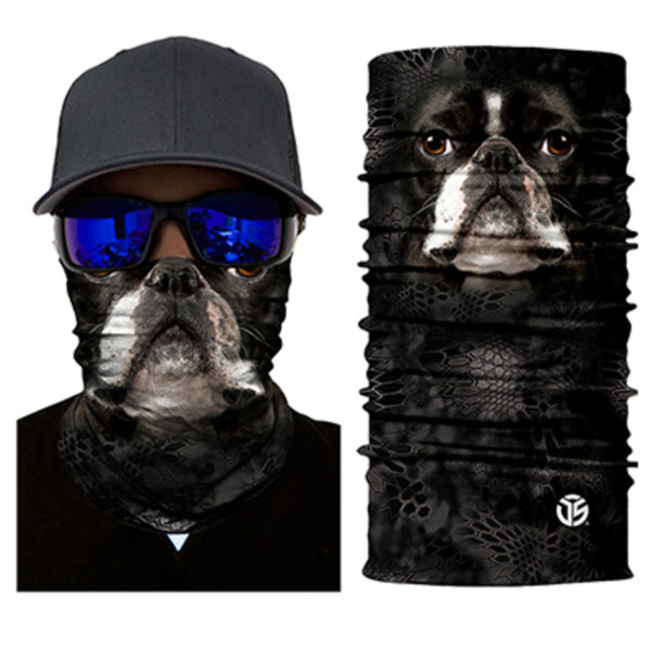 Boston Terrier Neck Gaiter / Bandana