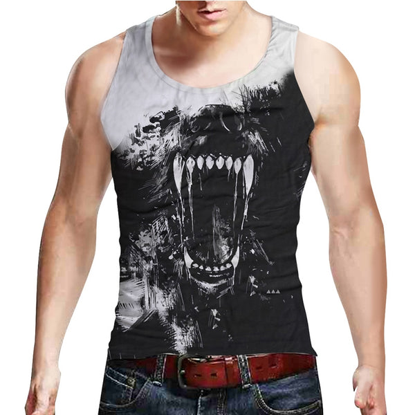 Growling Grizzly Tank Top
