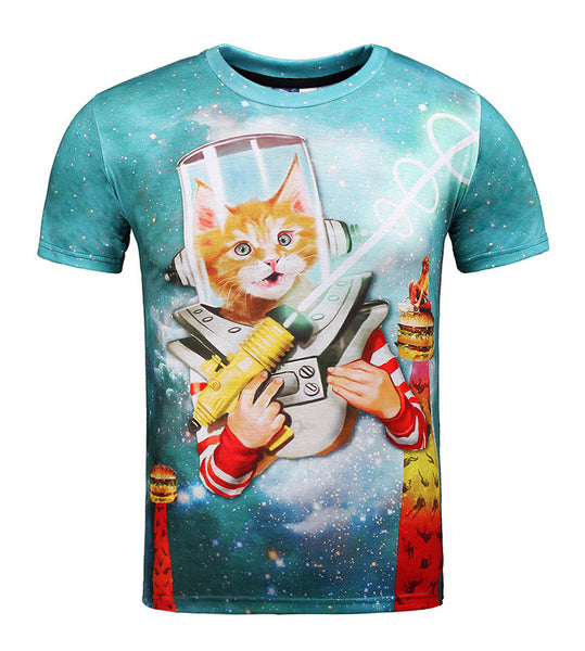 McDaddy Space Cat T-Shirt