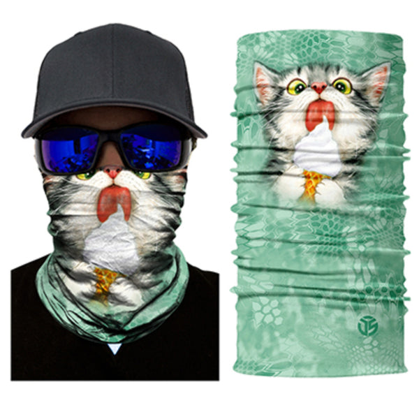 Kitty Ice Cream Neck Gaiter / Bandana