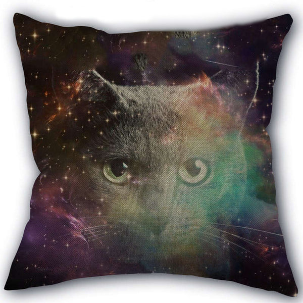 Lost in Space Kitty Pillow