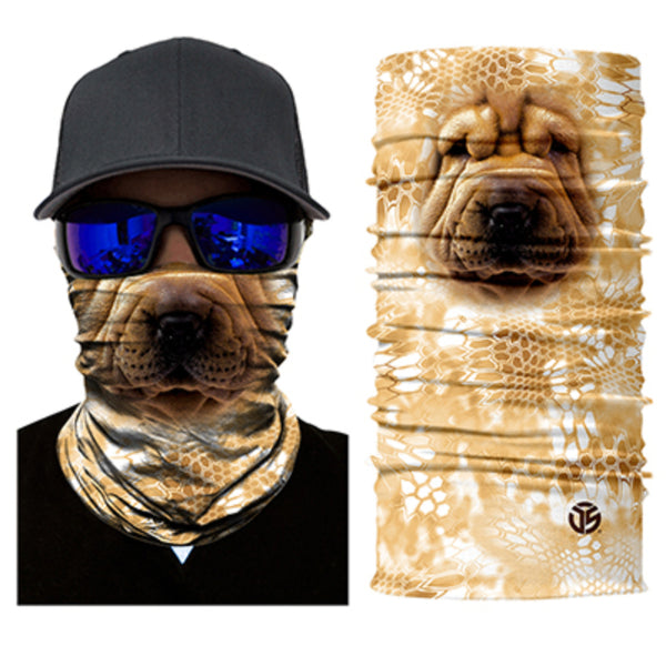 Sharpei Dog Neck Gaiter / Bandana