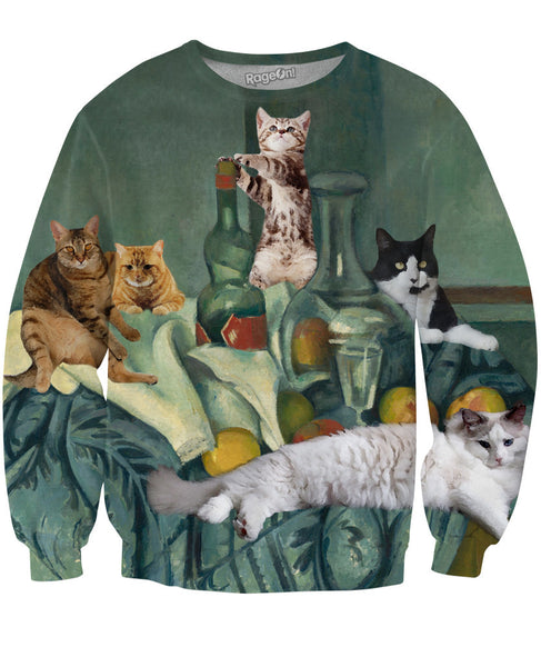 Still Cat Sweatshirt