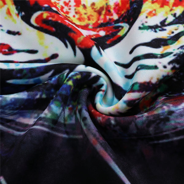 Colorful Tiger Face Tank Top